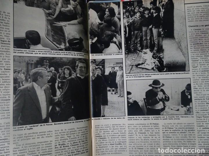 Coleccionismo de Revista Interviú: INTERVIU Nº315,PALMAR DE TROYA, MARÍA ASQUERINO,CASO VILA CARBONELL ,PANTOJA-PAQUIRRI, GEOS ALEMANES - Foto 5 - 266045573
