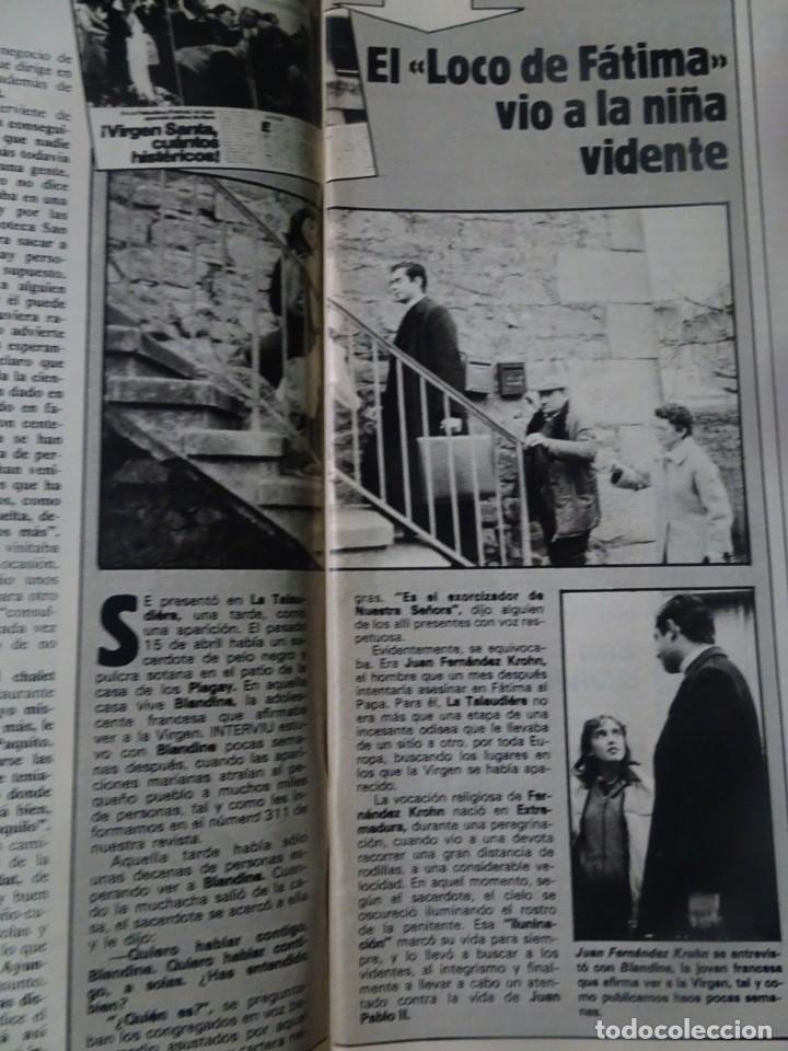 Coleccionismo de Revista Interviú: INTERVIU Nº315,PALMAR DE TROYA, MARÍA ASQUERINO,CASO VILA CARBONELL ,PANTOJA-PAQUIRRI, GEOS ALEMANES - Foto 11 - 266045573