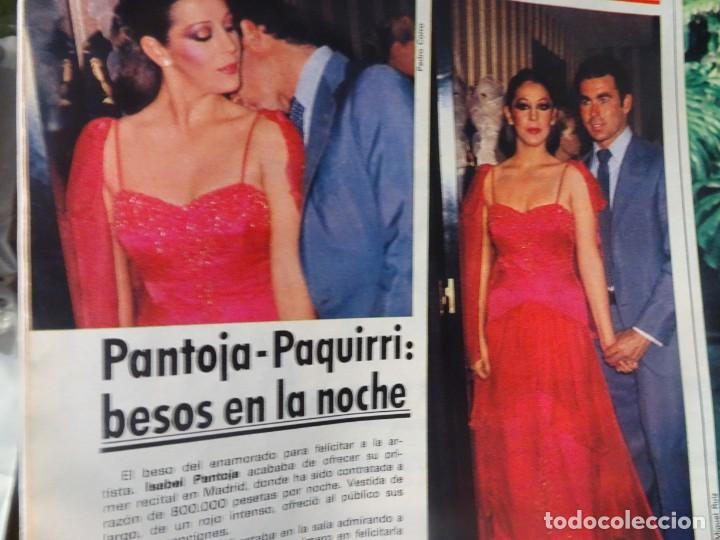 Coleccionismo de Revista Interviú: INTERVIU Nº315,PALMAR DE TROYA, MARÍA ASQUERINO,CASO VILA CARBONELL ,PANTOJA-PAQUIRRI, GEOS ALEMANES - Foto 12 - 266045573