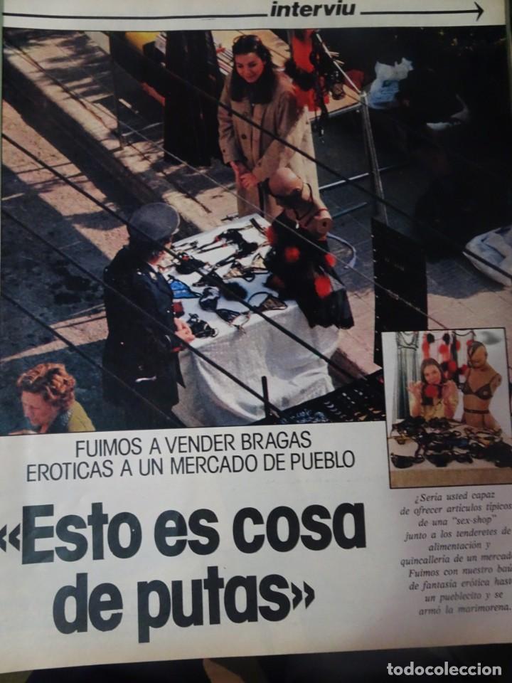 Coleccionismo de Revista Interviú: INTERVIU Nº315,PALMAR DE TROYA, MARÍA ASQUERINO,CASO VILA CARBONELL ,PANTOJA-PAQUIRRI, GEOS ALEMANES - Foto 16 - 266045573