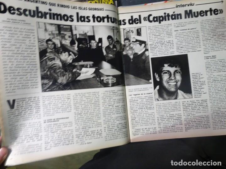 Coleccionismo de Revista Interviú: INTERVIU Nº315,PALMAR DE TROYA, MARÍA ASQUERINO,CASO VILA CARBONELL ,PANTOJA-PAQUIRRI, GEOS ALEMANES - Foto 17 - 266045573