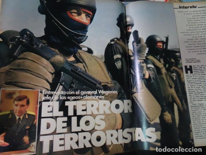 Coleccionismo de Revista Interviú: INTERVIU Nº315,PALMAR DE TROYA, MARÍA ASQUERINO,CASO VILA CARBONELL ,PANTOJA-PAQUIRRI, GEOS ALEMANES - Foto 29 - 266045573