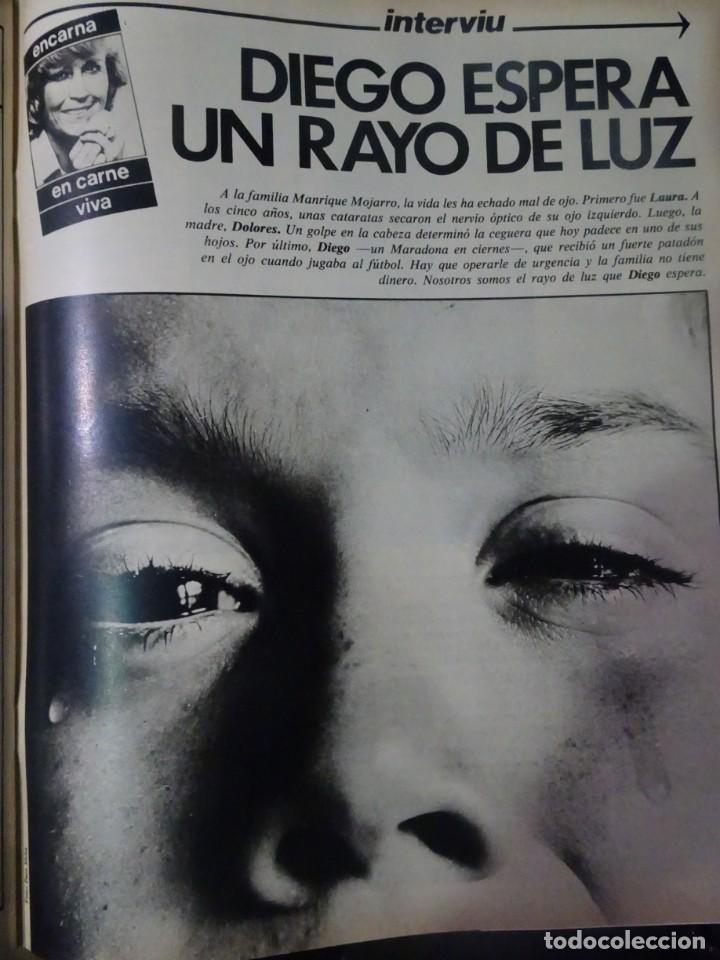 Coleccionismo de Revista Interviú: INTERVIU Nº315,PALMAR DE TROYA, MARÍA ASQUERINO,CASO VILA CARBONELL ,PANTOJA-PAQUIRRI, GEOS ALEMANES - Foto 37 - 266045573