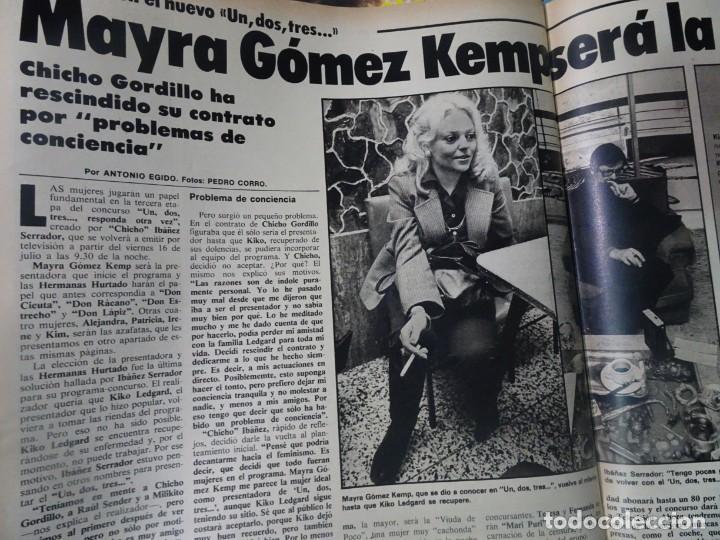 Coleccionismo de Revista Interviú: INTERVIU Nº315,PALMAR DE TROYA, MARÍA ASQUERINO,CASO VILA CARBONELL ,PANTOJA-PAQUIRRI, GEOS ALEMANES - Foto 38 - 266045573
