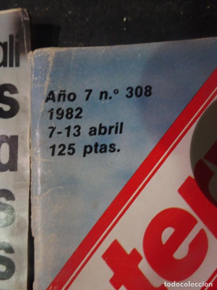 Coleccionismo de Revista Interviú: INTERVIU Nº308, ISABEL PISANO, MONJAS ENVENENADAS, SERRAT, SUPLEMENTO TIEMPO, CHANQUETE - Foto 2 - 266048268