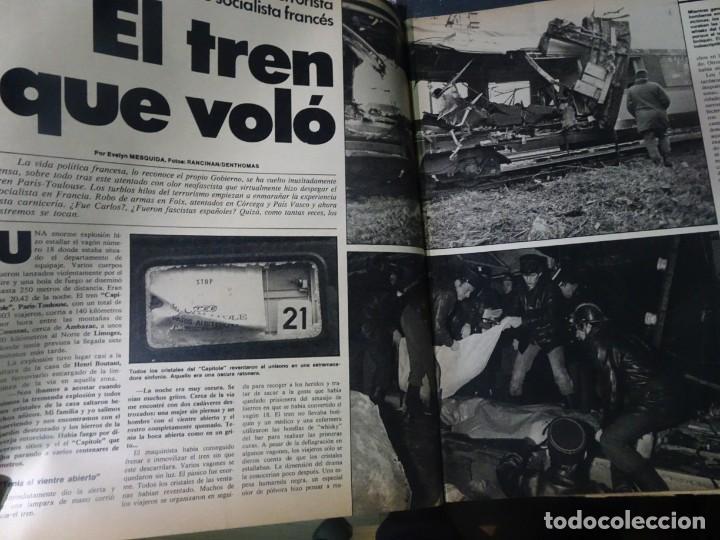 Coleccionismo de Revista Interviú: INTERVIU Nº308, ISABEL PISANO, MONJAS ENVENENADAS, SERRAT, SUPLEMENTO TIEMPO, CHANQUETE - Foto 5 - 266048268