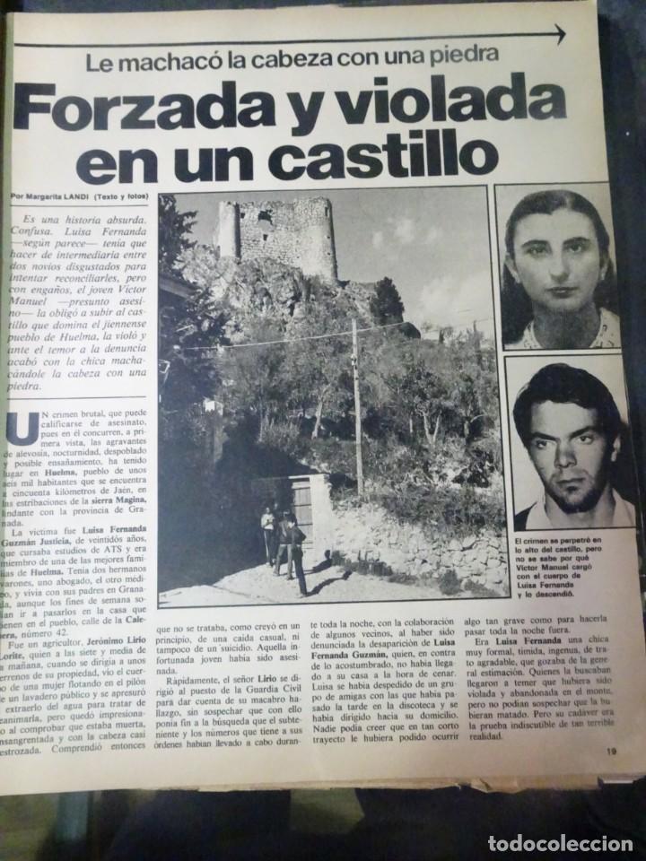 Coleccionismo de Revista Interviú: INTERVIU Nº308, ISABEL PISANO, MONJAS ENVENENADAS, SERRAT, SUPLEMENTO TIEMPO, CHANQUETE - Foto 8 - 266048268