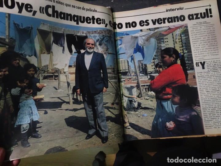 Coleccionismo de Revista Interviú: INTERVIU Nº308, ISABEL PISANO, MONJAS ENVENENADAS, SERRAT, SUPLEMENTO TIEMPO, CHANQUETE - Foto 11 - 266048268