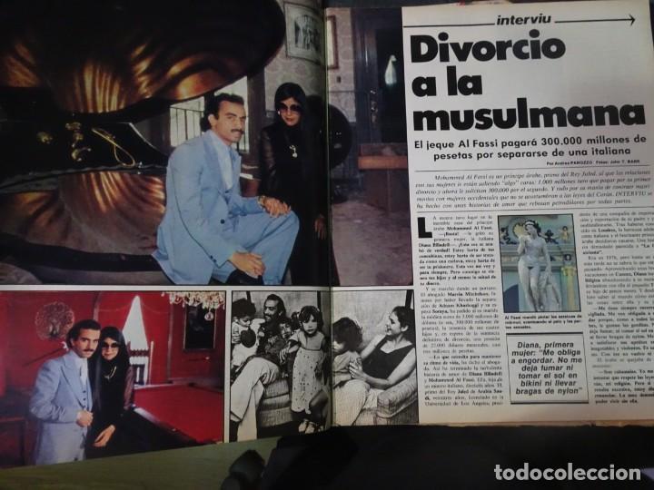 Coleccionismo de Revista Interviú: INTERVIU Nº308, ISABEL PISANO, MONJAS ENVENENADAS, SERRAT, SUPLEMENTO TIEMPO, CHANQUETE - Foto 12 - 266048268