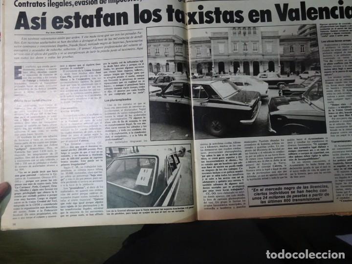 Coleccionismo de Revista Interviú: INTERVIU Nº308, ISABEL PISANO, MONJAS ENVENENADAS, SERRAT, SUPLEMENTO TIEMPO, CHANQUETE - Foto 13 - 266048268