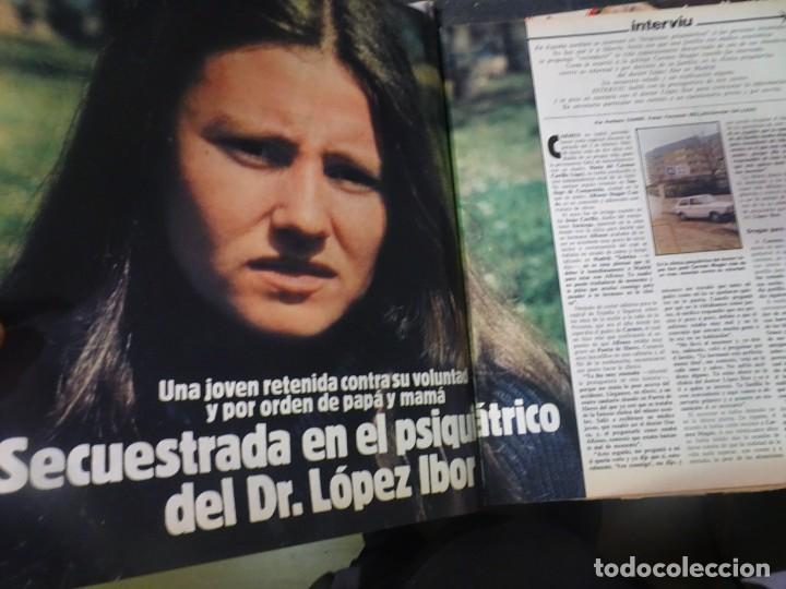 Coleccionismo de Revista Interviú: INTERVIU Nº308, ISABEL PISANO, MONJAS ENVENENADAS, SERRAT, SUPLEMENTO TIEMPO, CHANQUETE - Foto 15 - 266048268