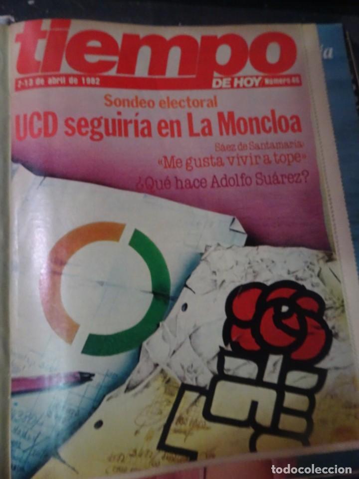 Coleccionismo de Revista Interviú: INTERVIU Nº308, ISABEL PISANO, MONJAS ENVENENADAS, SERRAT, SUPLEMENTO TIEMPO, CHANQUETE - Foto 16 - 266048268