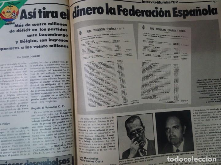 Coleccionismo de Revista Interviú: INTERVIU Nº308, ISABEL PISANO, MONJAS ENVENENADAS, SERRAT, SUPLEMENTO TIEMPO, CHANQUETE - Foto 27 - 266048268