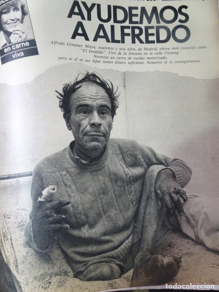 Coleccionismo de Revista Interviú: INTERVIU Nº308, ISABEL PISANO, MONJAS ENVENENADAS, SERRAT, SUPLEMENTO TIEMPO, CHANQUETE - Foto 31 - 266048268