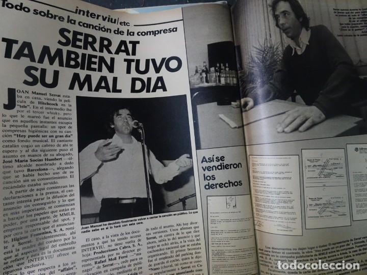 Coleccionismo de Revista Interviú: INTERVIU Nº308, ISABEL PISANO, MONJAS ENVENENADAS, SERRAT, SUPLEMENTO TIEMPO, CHANQUETE - Foto 32 - 266048268