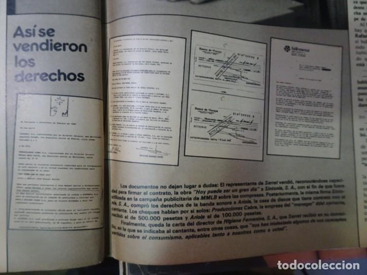 Coleccionismo de Revista Interviú: INTERVIU Nº308, ISABEL PISANO, MONJAS ENVENENADAS, SERRAT, SUPLEMENTO TIEMPO, CHANQUETE - Foto 33 - 266048268