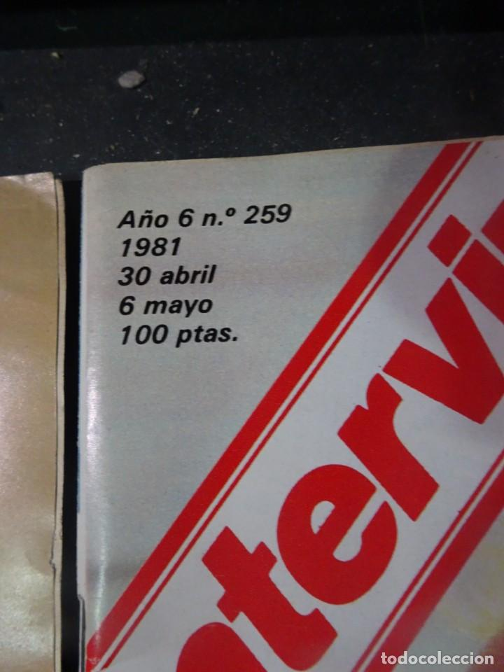 Coleccionismo de Revista Interviú: INTERVIU Nº259, ROCIO JURADO , SUPLEMENTO EXTRA, SECUESTRO DE QUINI , ESCÁNDALO DALÍ, EVA LEÓN, - Foto 2 - 266050458