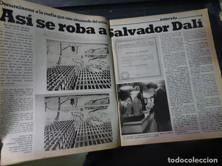 Coleccionismo de Revista Interviú: INTERVIU Nº259, ROCIO JURADO , SUPLEMENTO EXTRA, SECUESTRO DE QUINI , ESCÁNDALO DALÍ, EVA LEÓN, - Foto 4 - 266050458