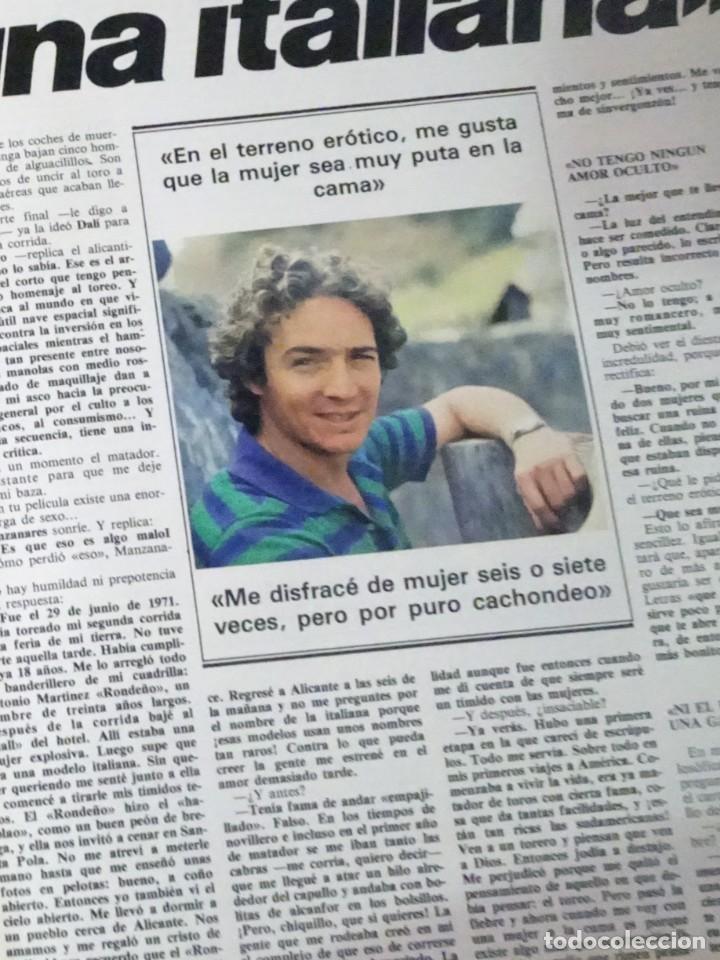 Coleccionismo de Revista Interviú: INTERVIU Nº259, ROCIO JURADO , SUPLEMENTO EXTRA, SECUESTRO DE QUINI , ESCÁNDALO DALÍ, EVA LEÓN, - Foto 10 - 266050458