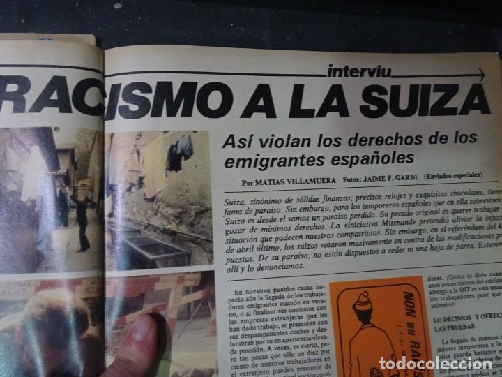 Coleccionismo de Revista Interviú: INTERVIU Nº259, ROCIO JURADO , SUPLEMENTO EXTRA, SECUESTRO DE QUINI , ESCÁNDALO DALÍ, EVA LEÓN, - Foto 21 - 266050458