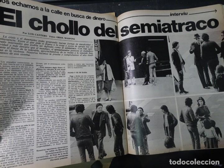 Coleccionismo de Revista Interviú: INTERVIU Nº259, ROCIO JURADO , SUPLEMENTO EXTRA, SECUESTRO DE QUINI , ESCÁNDALO DALÍ, EVA LEÓN, - Foto 25 - 266050458