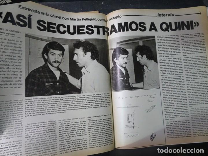 Coleccionismo de Revista Interviú: INTERVIU Nº259, ROCIO JURADO , SUPLEMENTO EXTRA, SECUESTRO DE QUINI , ESCÁNDALO DALÍ, EVA LEÓN, - Foto 28 - 266050458