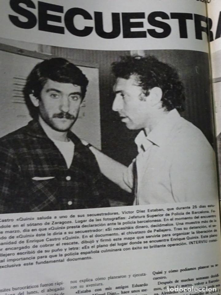 Coleccionismo de Revista Interviú: INTERVIU Nº259, ROCIO JURADO , SUPLEMENTO EXTRA, SECUESTRO DE QUINI , ESCÁNDALO DALÍ, EVA LEÓN, - Foto 29 - 266050458