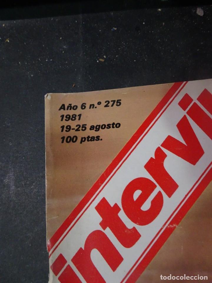 Coleccionismo de Revista Interviú: INTERVIU Nº275, SUSANA ESTRADA, SYLVIA KRISTEL, MARISOL, ETA , GUATEMALA, MUJERES BOXEO, SUPLEMENTO - Foto 2 - 266051233