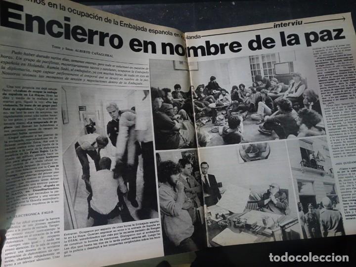 Coleccionismo de Revista Interviú: INTERVIU Nº275, SUSANA ESTRADA, SYLVIA KRISTEL, MARISOL, ETA , GUATEMALA, MUJERES BOXEO, SUPLEMENTO - Foto 6 - 266051233