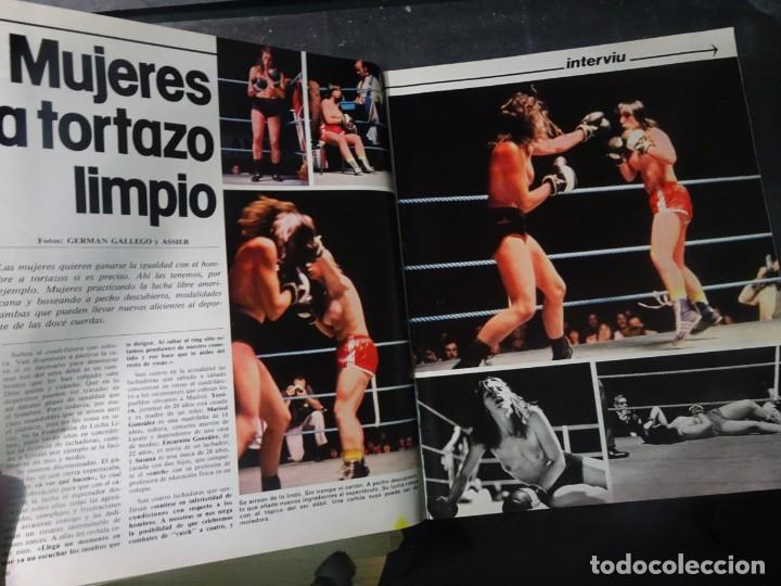 Coleccionismo de Revista Interviú: INTERVIU Nº275, SUSANA ESTRADA, SYLVIA KRISTEL, MARISOL, ETA , GUATEMALA, MUJERES BOXEO, SUPLEMENTO - Foto 10 - 266051233