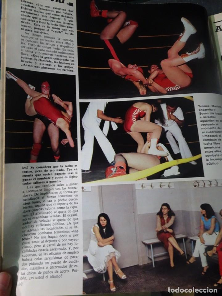 Coleccionismo de Revista Interviú: INTERVIU Nº275, SUSANA ESTRADA, SYLVIA KRISTEL, MARISOL, ETA , GUATEMALA, MUJERES BOXEO, SUPLEMENTO - Foto 12 - 266051233