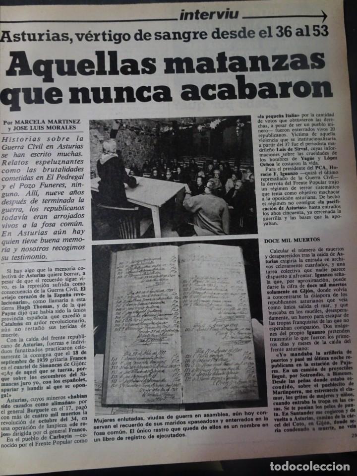 Coleccionismo de Revista Interviú: INTERVIU Nº275, SUSANA ESTRADA, SYLVIA KRISTEL, MARISOL, ETA , GUATEMALA, MUJERES BOXEO, SUPLEMENTO - Foto 13 - 266051233