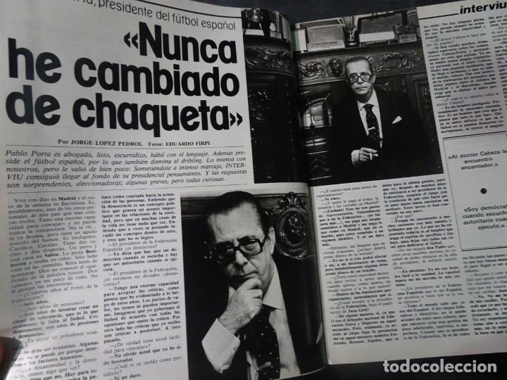 Coleccionismo de Revista Interviú: INTERVIU Nº275, SUSANA ESTRADA, SYLVIA KRISTEL, MARISOL, ETA , GUATEMALA, MUJERES BOXEO, SUPLEMENTO - Foto 15 - 266051233