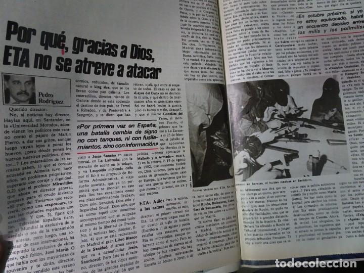Coleccionismo de Revista Interviú: INTERVIU Nº275, SUSANA ESTRADA, SYLVIA KRISTEL, MARISOL, ETA , GUATEMALA, MUJERES BOXEO, SUPLEMENTO - Foto 20 - 266051233