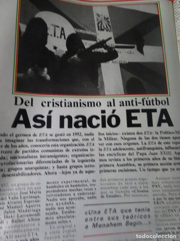 Coleccionismo de Revista Interviú: INTERVIU Nº275, SUSANA ESTRADA, SYLVIA KRISTEL, MARISOL, ETA , GUATEMALA, MUJERES BOXEO, SUPLEMENTO - Foto 21 - 266051233