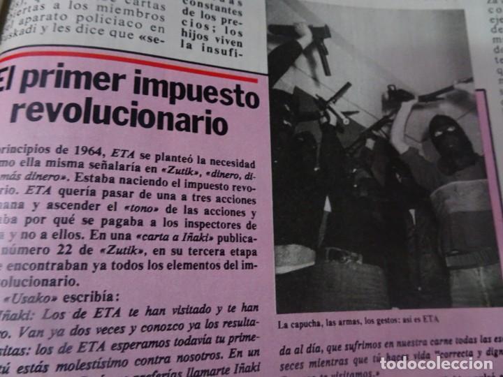 Coleccionismo de Revista Interviú: INTERVIU Nº275, SUSANA ESTRADA, SYLVIA KRISTEL, MARISOL, ETA , GUATEMALA, MUJERES BOXEO, SUPLEMENTO - Foto 23 - 266051233