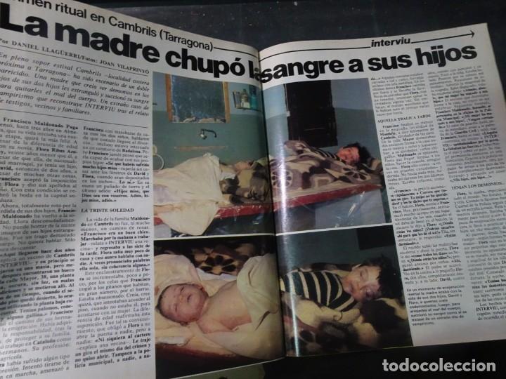 Coleccionismo de Revista Interviú: INTERVIU Nº275, SUSANA ESTRADA, SYLVIA KRISTEL, MARISOL, ETA , GUATEMALA, MUJERES BOXEO, SUPLEMENTO - Foto 25 - 266051233