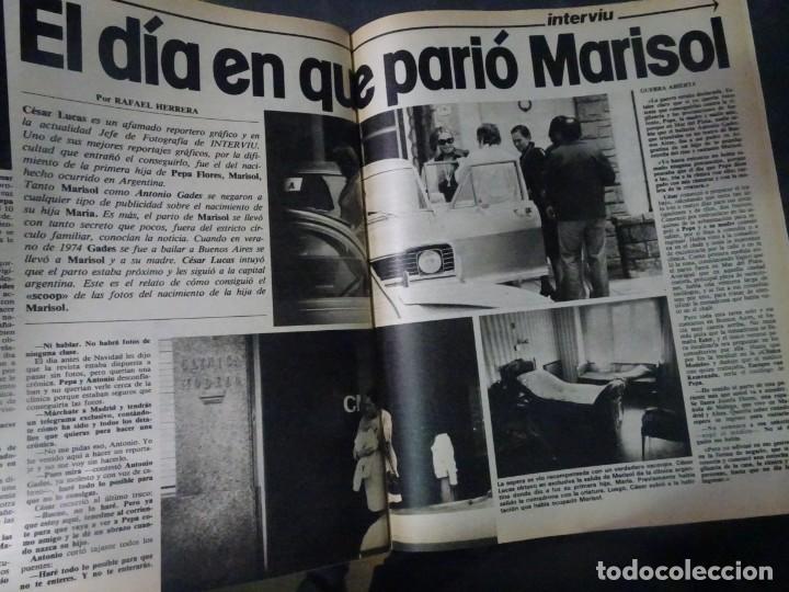 Coleccionismo de Revista Interviú: INTERVIU Nº275, SUSANA ESTRADA, SYLVIA KRISTEL, MARISOL, ETA , GUATEMALA, MUJERES BOXEO, SUPLEMENTO - Foto 27 - 266051233