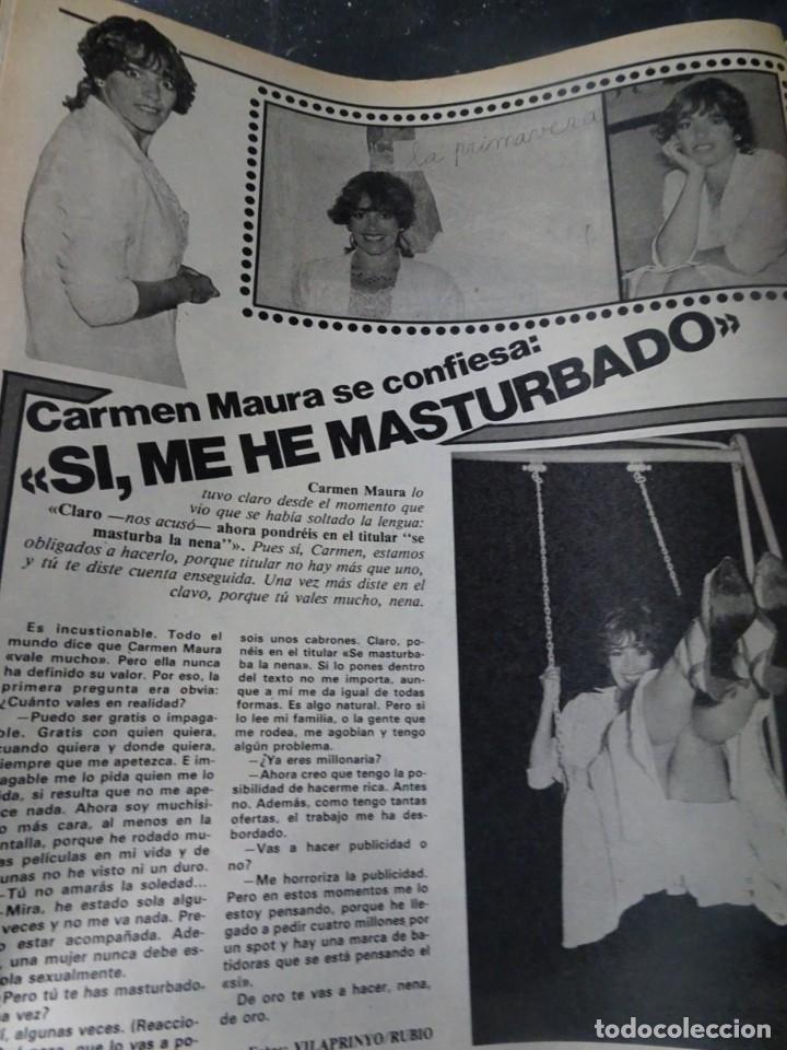 Coleccionismo de Revista Interviú: INTERVIU Nº275, SUSANA ESTRADA, SYLVIA KRISTEL, MARISOL, ETA , GUATEMALA, MUJERES BOXEO, SUPLEMENTO - Foto 33 - 266051233