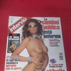 Collectionnisme de Magazine Interviú: REVISTA INTERVIÚ N.1412 AÑO 2003. Lote 266087183