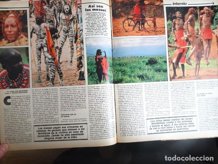 Coleccionismo de Revista Interviú: INTERVIÚ N° 354, ANA BELÉN, NAZI DEGRELLE, GUARDIA CIVIL, INCENDIO TURÍN, INCESTO ,VER FOTOS - Foto 10 - 267307524