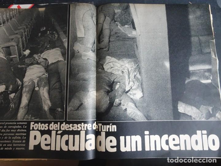 Coleccionismo de Revista Interviú: INTERVIÚ N° 354, ANA BELÉN, NAZI DEGRELLE, GUARDIA CIVIL, INCENDIO TURÍN, INCESTO ,VER FOTOS - Foto 14 - 267307524