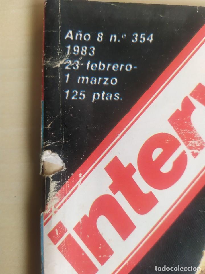 Coleccionismo de Revista Interviú: INTERVIÚ N° 354, ANA BELÉN, NAZI DEGRELLE, GUARDIA CIVIL, INCENDIO TURÍN, INCESTO ,VER FOTOS - Foto 3 - 267307524