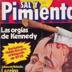 Coleccionismo de Revista Interviú: SAL Y PIMIENTA, SUPLEMENTO SATÍRICO DE INTERVIÚ Nº 20 #. Lote 268840409