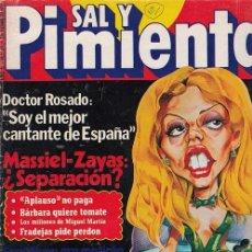 Coleccionismo de Revista Interviú: SAL Y PIMIENTA, SUPLEMENTO SATÍRICO DE INTERVIÚ Nº 21 #. Lote 268840469