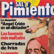 Coleccionismo de Revista Interviú: SAL Y PIMIENTA, SUPLEMENTO SATÍRICO DE INTERVIÚ Nº 22 #. Lote 268840534