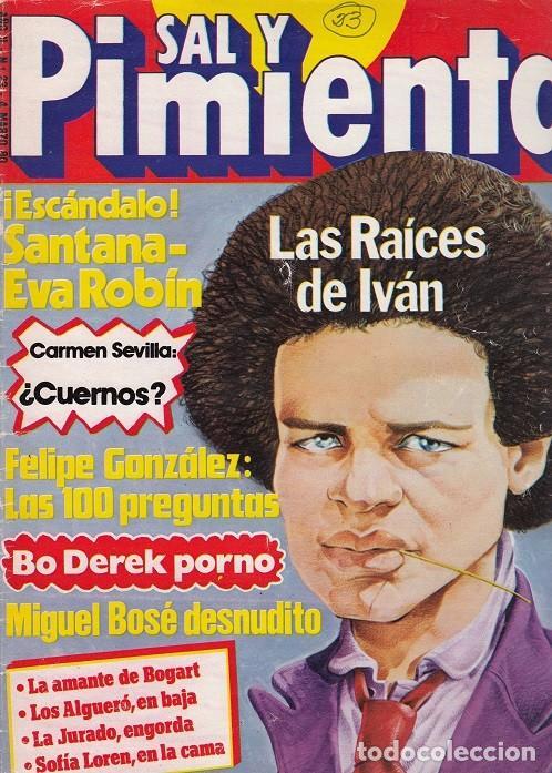 SAL Y PIMIENTA, SUPLEMENTO SATÍRICO DE INTERVIÚ Nº 23 # (Coleccionismo - Revistas y Periódicos Modernos (a partir de 1.940) - Revista Interviú)