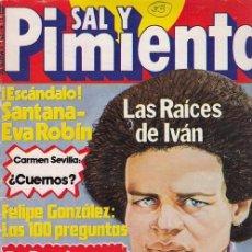 Coleccionismo de Revista Interviú: SAL Y PIMIENTA, SUPLEMENTO SATÍRICO DE INTERVIÚ Nº 23 #. Lote 268840609