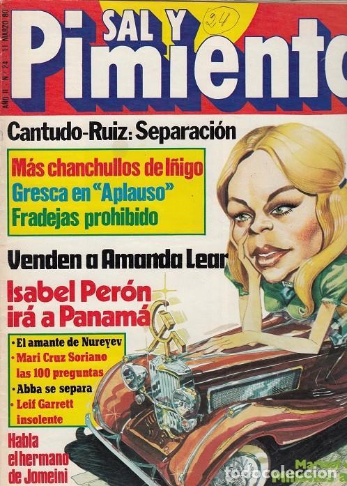 SAL Y PIMIENTA, SUPLEMENTO SATÍRICO DE INTERVIÚ Nº 24 # (Coleccionismo - Revistas y Periódicos Modernos (a partir de 1.940) - Revista Interviú)