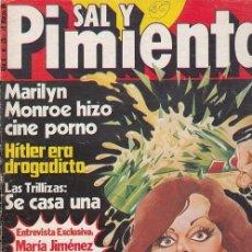 Coleccionismo de Revista Interviú: SAL Y PIMIENTA, SUPLEMENTO SATÍRICO DE INTERVIÚ Nº 25 #. Lote 268840729